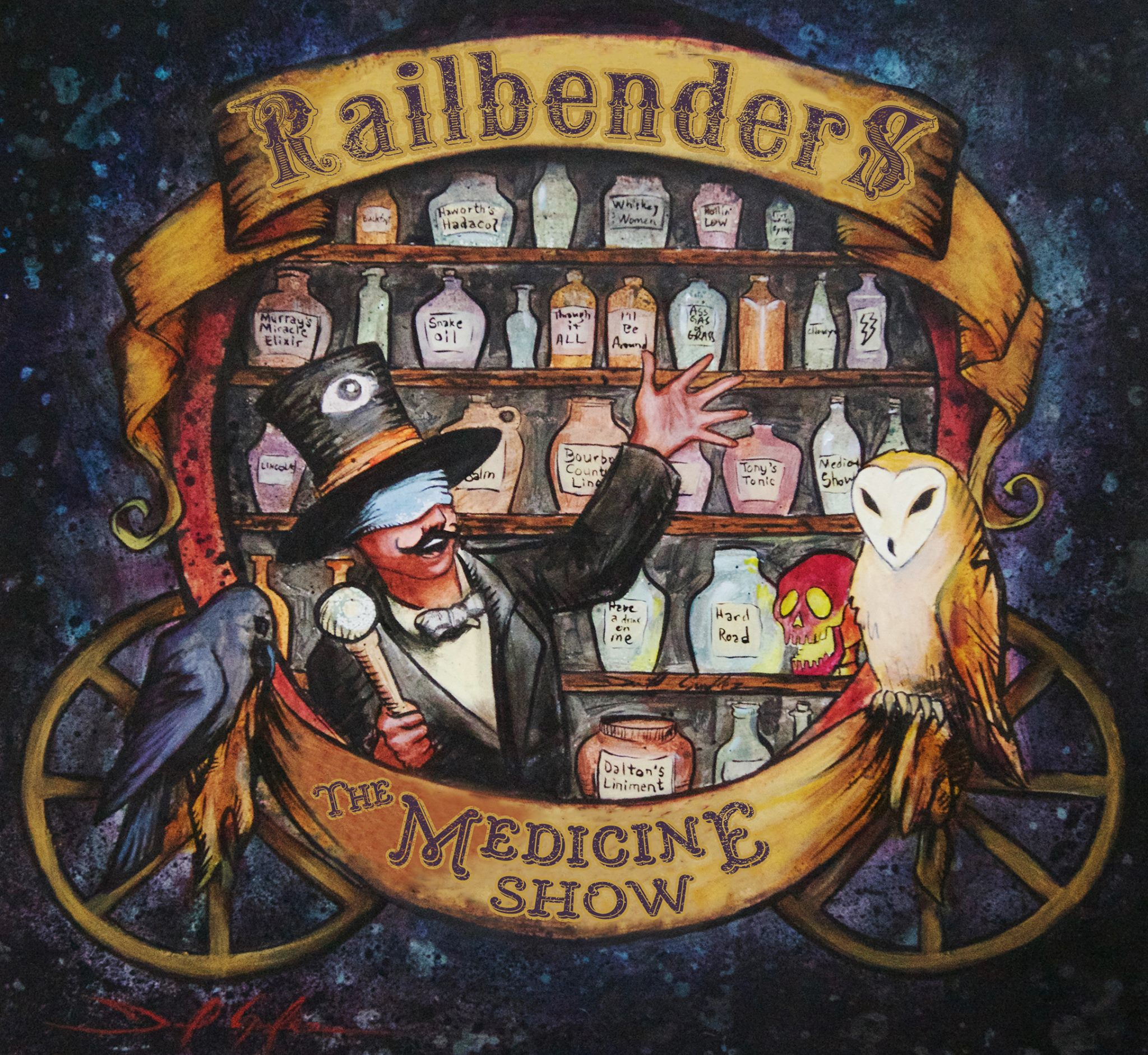 Railbenders - The Medicine Show